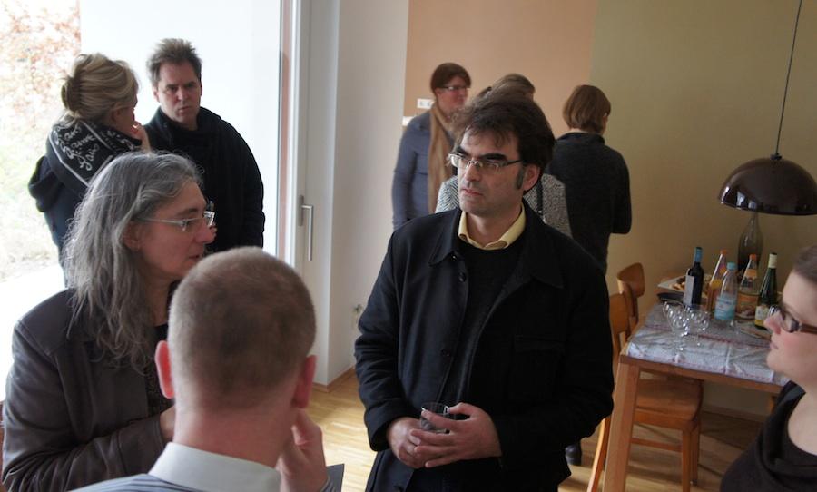 Experten und Interessierte im Gespräch