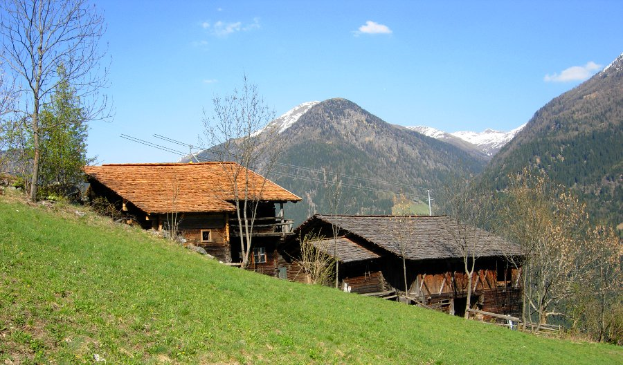 Idyllisch gelegen im oberen Mölltal: der Ederhof
