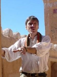 Manfred Fahnert in Marokko