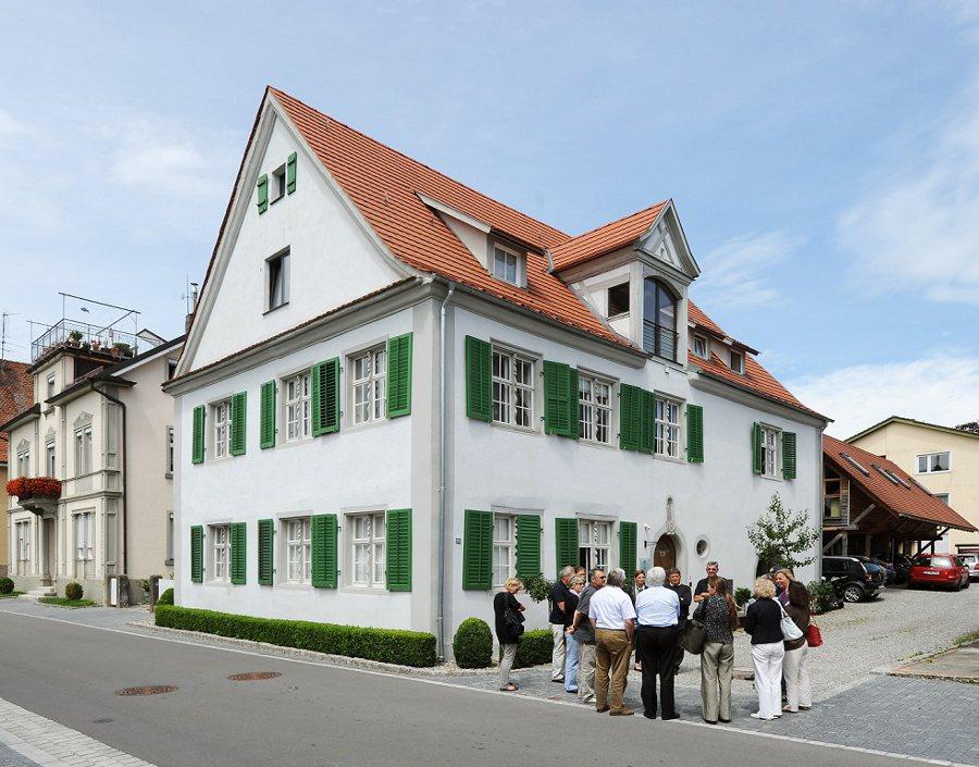 Das preisgekrönte Objekt: barockes Wohnhaus in Langenargen