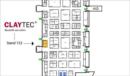 CLAYTEC auf der DEUBAU in Halle 3.0