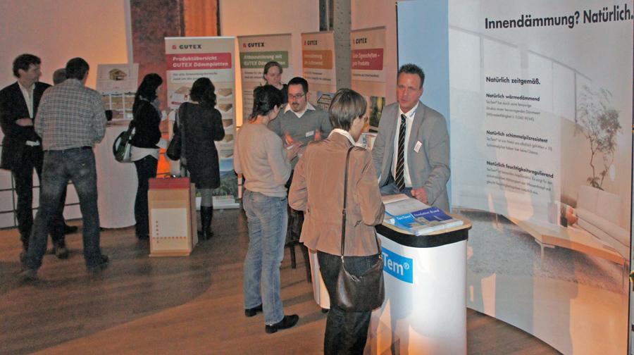 Die Partner-Unternehmen informierten über technische Lösungen