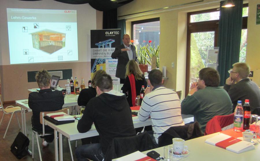 Claytec-Seminar bei Conny's in Boisheim