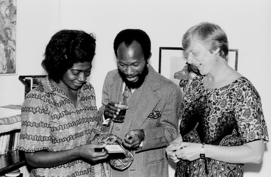 Feier im Freundeskreis anlässlich der Verleihung des Bundesverdienstkreuzes 1981