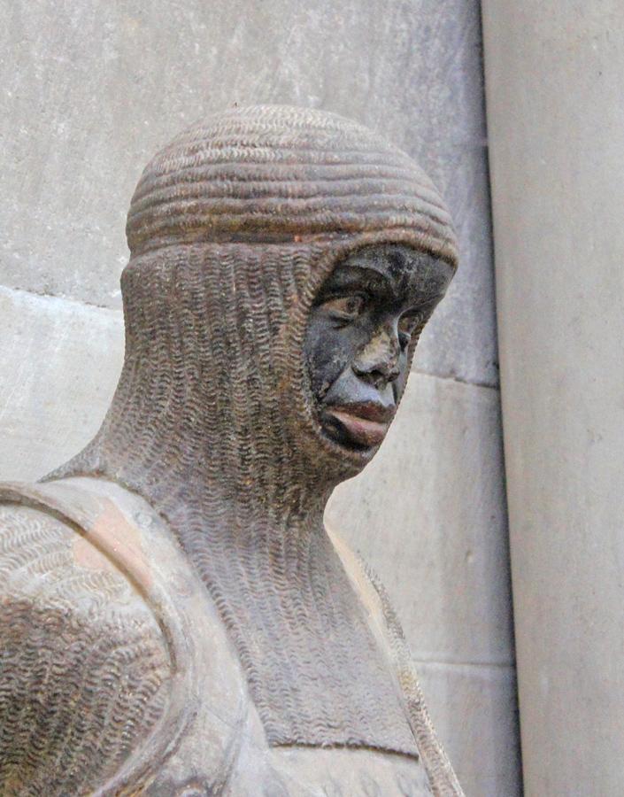 Im Dom zu Magdeburg: St. Mauritius als Kämpfer für den christlichen Glauben