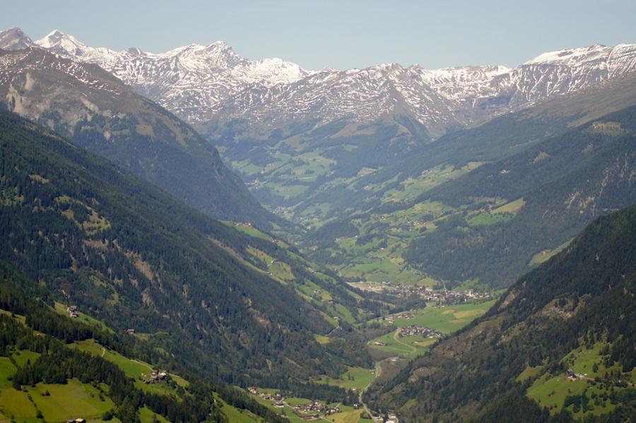Eine der schönsten Landschaften Österreichs: das Mölltal in Kärnten