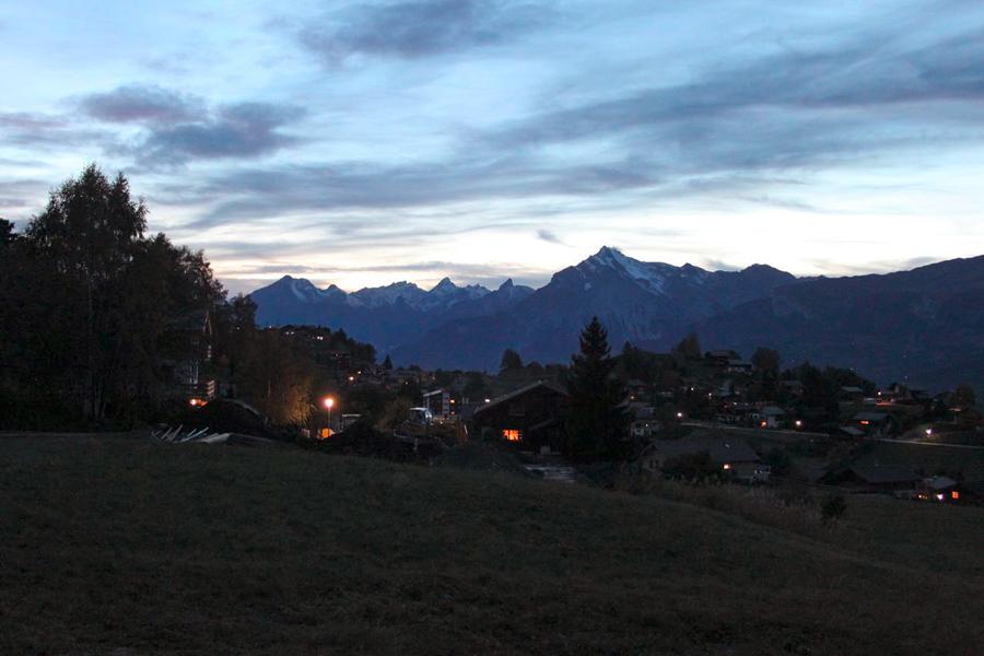 Abendstimmung in den Berner Alpen - Foto: Ivanov