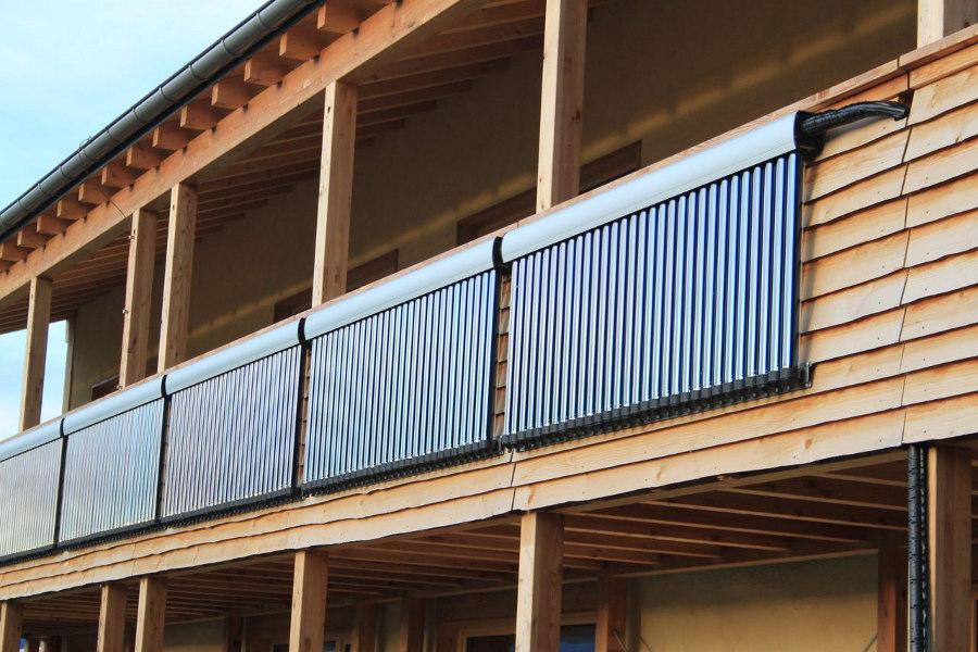 Solarmodule für die Warmwasserbereitung - Foto: Ivanov