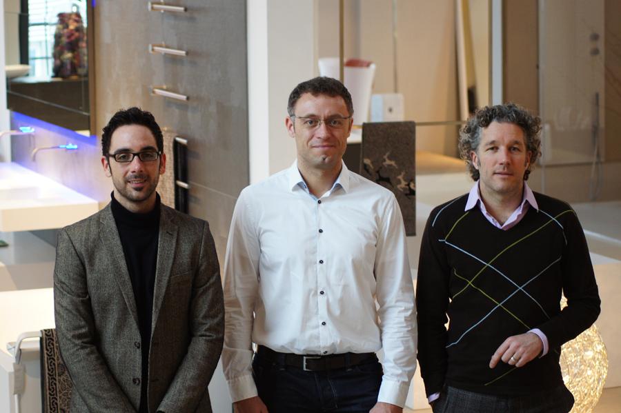 Gewachsene Zusammenarbeit:die Einwandfrei-Betreiber Christian Reidick und Marcell Linke sowie Ultramarin Geschäftsführer Stephan Krischer (.v. l. n. r.))