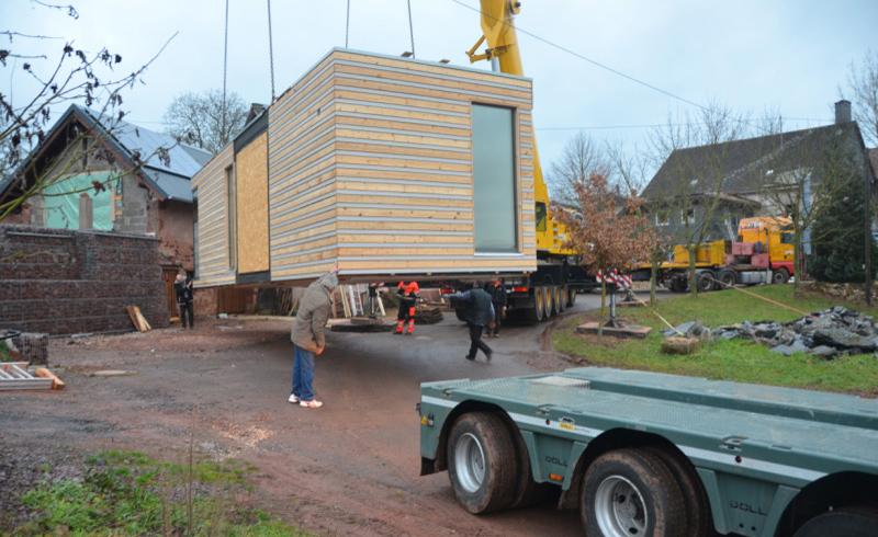 Im Januar 2013 wurde in Nänikon/Uster die erste Ökowohnbox aufgestellt.