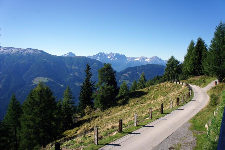 Ausblick vom Marterle in Richtung Mölltal