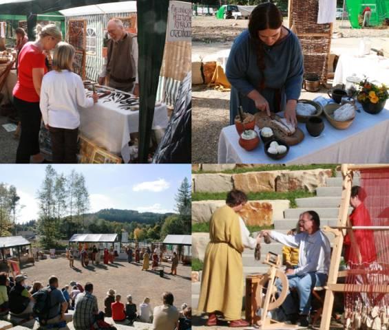 """Im Juli wird gefeiert: Keltenfest """"Celtoi""""  Foto: Keltenpark"""