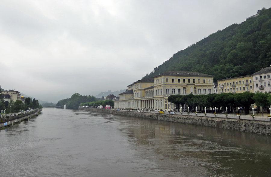 Erstes Etappenziel: Bad Ems an der Lahn