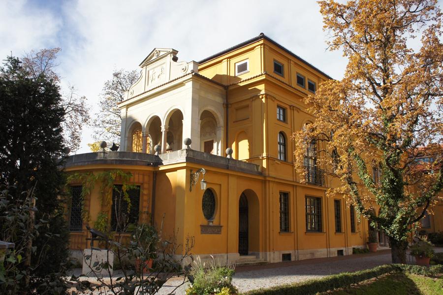 Offenbarte eine kulturelle Bildungslücke des Autors: das Lenbachhaus in München (historischer Seitenflügel)