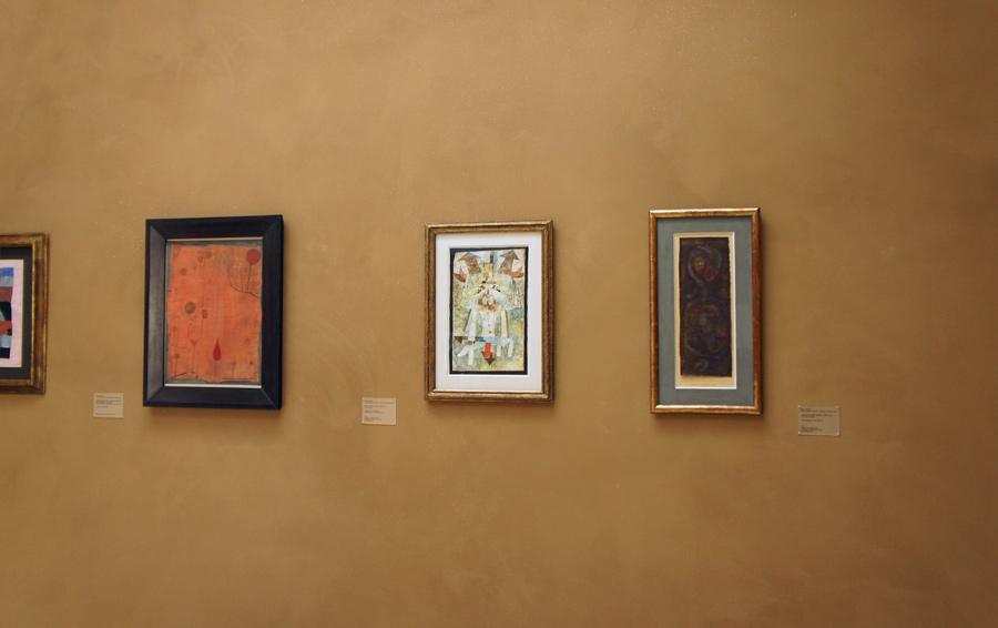 Meisterwerke des Expressionismus auf Lehmputz