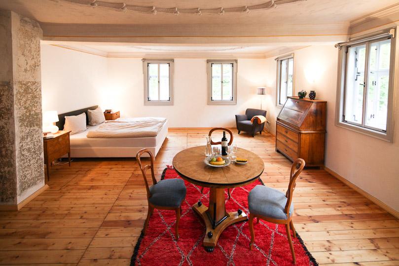 """Der Gewinn: ein Wochende im """"Barockzimmer"""" im Hotel Stadthaus Arnstadt"""