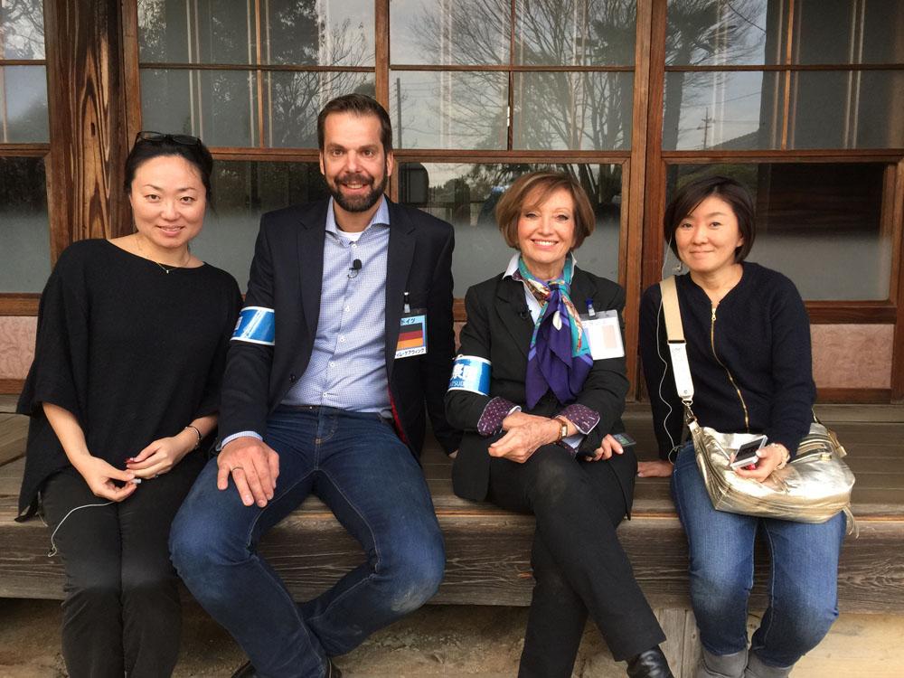 Durfte an Michael Wanings Stelle nach Japan reisen: Zimmermann Tim Gerwing
