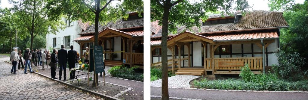 Das Café Verde im Magdeburger Herrenkrugpark