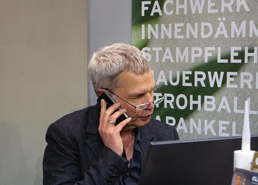 Ulrich Roehlen, Leiter Technik und Marketing CLAYTEC