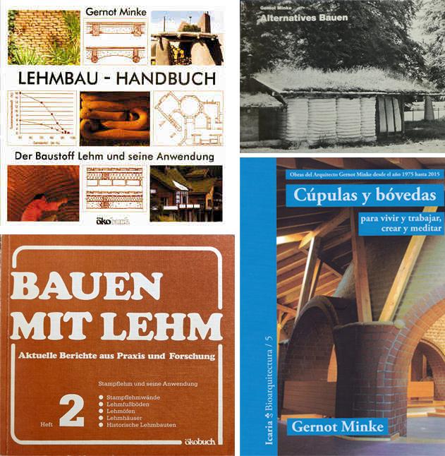 """Gernot Minke ist Verfasser zahlreicher deutschsprachiger und internationaler Publikationen. Sein """"Lehmbau - Handbuch"""" gilt bis heute als Standardwerk."""