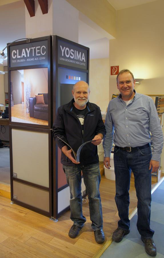 Friedrich Kerker (l.) und Michael Cordes