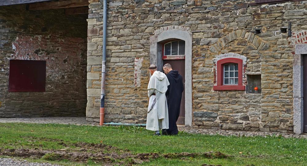 Der Tagesablauf der Benediktinermönche folgt strengen Regeln