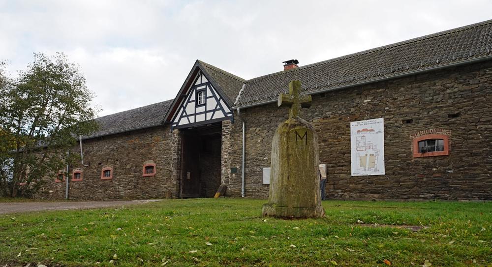 Da war das Tor noch offen: Portal zum Kloster Reichenstein