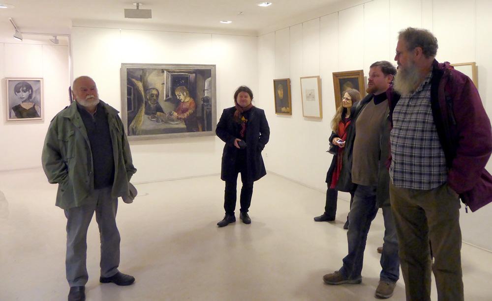 Highlight zum Schluss: Ausstellung A.R. Penck