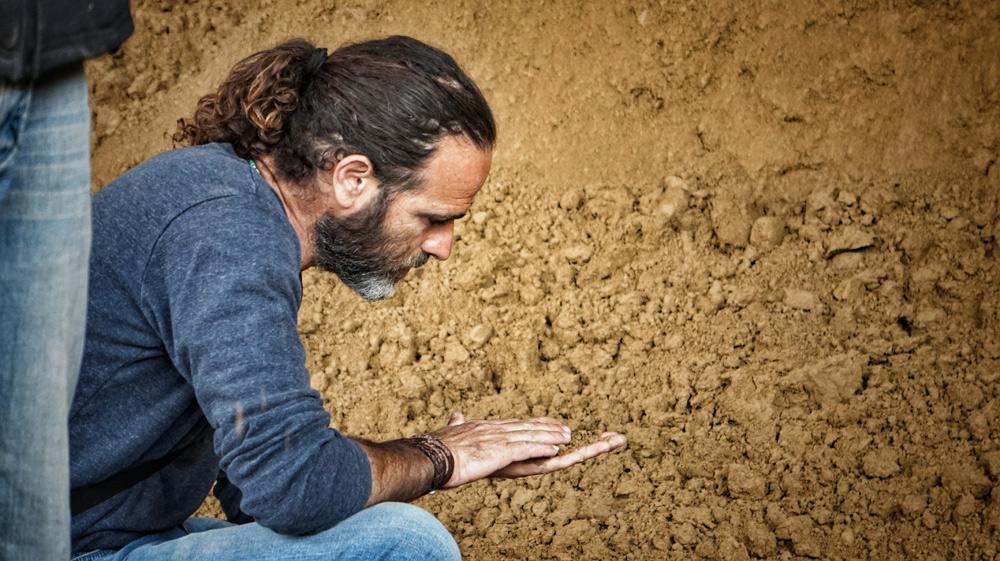 Mit allen Sinnen bei der Sache: Bauleiter Ariel Elzam
